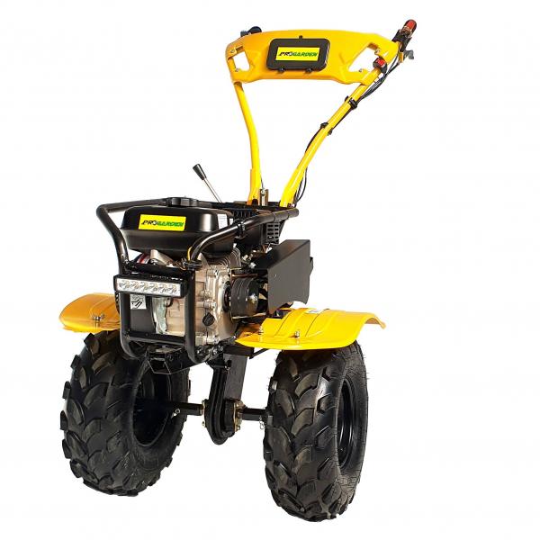 Motocultor ProGARDEN HS500N, 7 CP, benzina, 2+1 viteze, roti ATV 19x7-8, far LED (Campo 753) 4