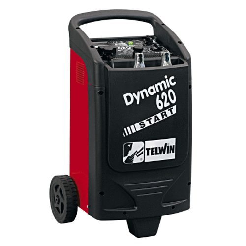 Redresor + Robot pornire auto Telwin DYNAMIC 620 START, 12/24V, incarcare 90 A, pornire 570 A [0]