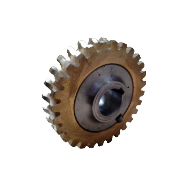 Roata melcata din bronz motosapa Agrimotor Aratrum / Rotalux 2, 28 dinti [0]