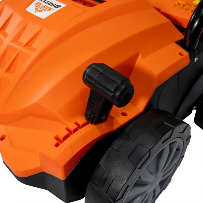 Scarificator gazon electric Ruris RXE888, 1500 W, 32 cm, 30 L 1