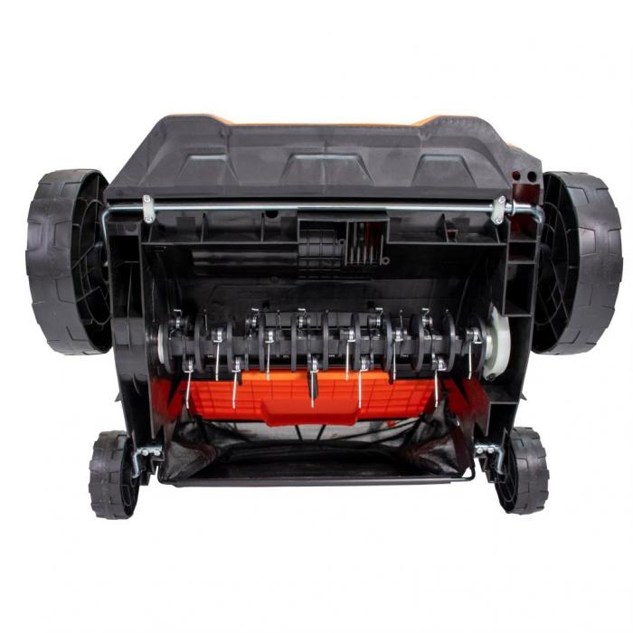 Scarificator gazon electric Ruris RXE888, 1500 W, 32 cm, 30 L 5
