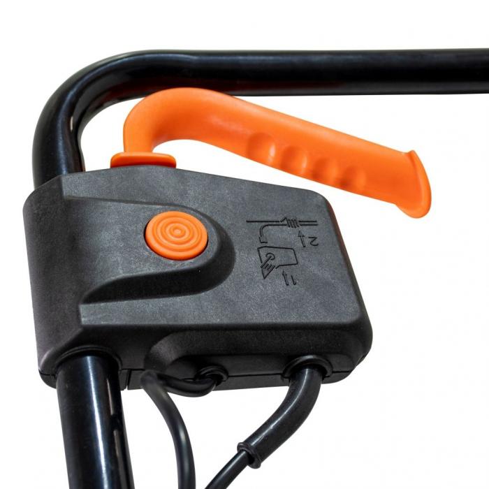 Scarificator gazon electric Ruris RXE888, 1500 W, 32 cm, 30 L 4