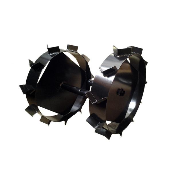 Set roti metalice Szentkiraly 42 cm, ax cilindric 24 mm 0