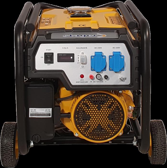 Stager FD 4000E generator open-frame 3.3kW, monofazat, benzina, pornire electrica [1]