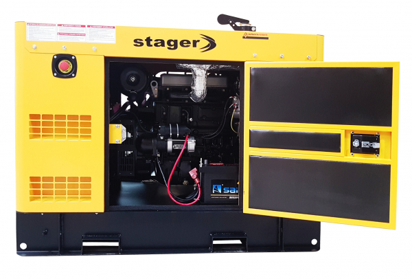 Stager YDY18S3-E Generator insonorizat diesel trifazat 16kVA, 23A, 1500rpm [0]