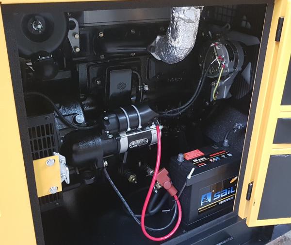 Stager YDY18S3-E Generator insonorizat diesel trifazat 16kVA, 23A, 1500rpm [2]