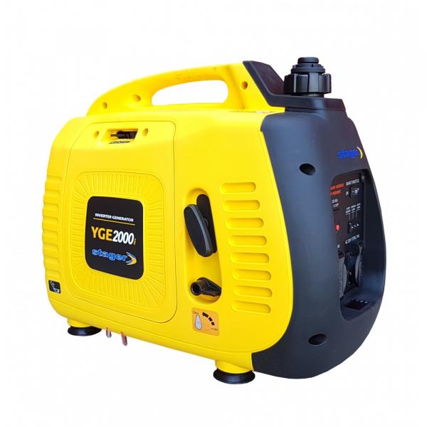 Stager YGE2000i Generator digital invertor monofazat, 1.8kW, benzina, pornire la sfoara [1]