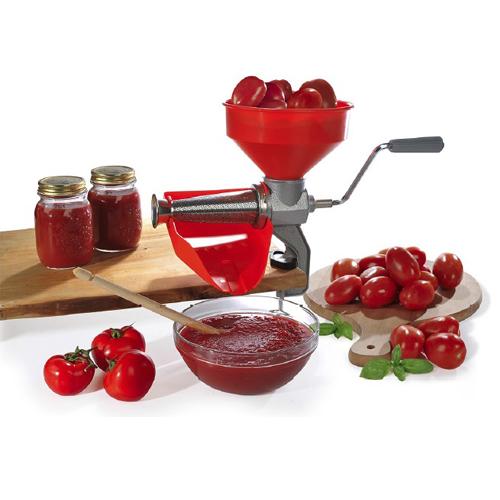 Storcator de rosii manual nr. 5, Reber 8502 N, vas inox [1]