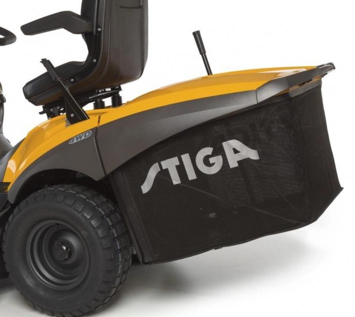 Tractoras de tuns gazon Stiga ESTATE 7122 HWSY, 20 CP, 122 cm, 320 L [3]