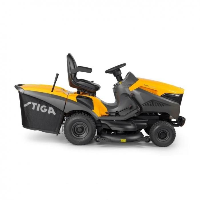 Tractoras de tuns gazon Stiga ESTATE 7122 HWSY, 20 CP, 122 cm, 320 L [2]
