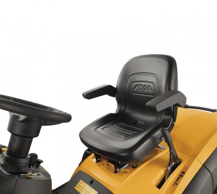 Tractoras de tuns gazon Stiga ESTATE 7122 HWSY, 20 CP, 122 cm, 320 L [6]