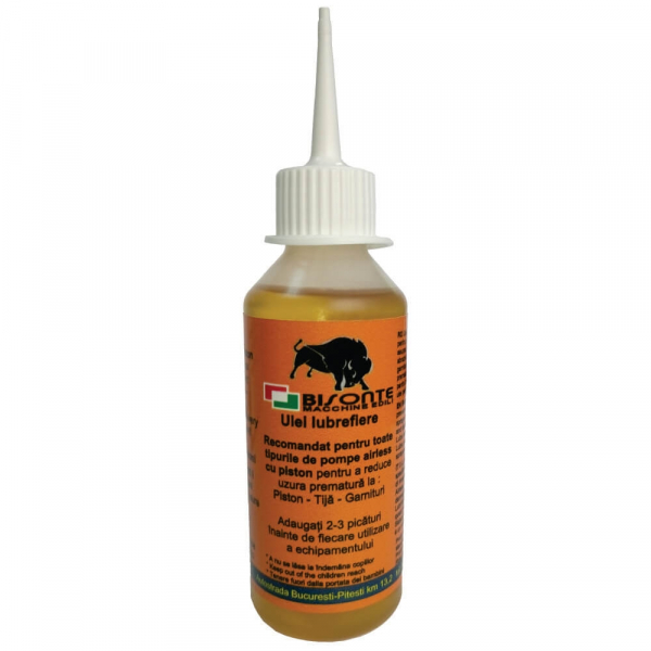 Ulei pentru lubrifiere pompe airless Bisonte, 240 ml [0]