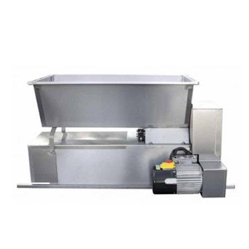 Zdrobitor-desciorchinator electric cu snec ENO 15 Inox, 750 W, 1600-1800 kg/h 0