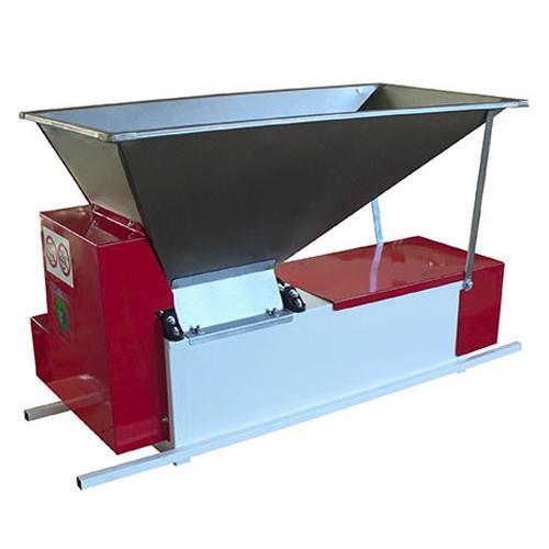 Zdrobitor de struguri cu desciorchinator, electric ENO 3/M Semi-Inox, 750 W, 1000-1200 kg/h [0]