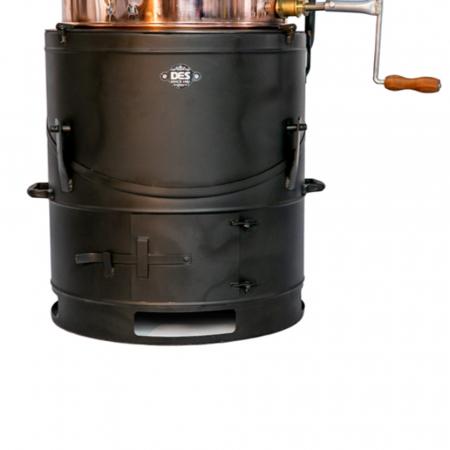 Cazan pentru tuica, cu amestecator Des BASCULANT 80 litri [3]