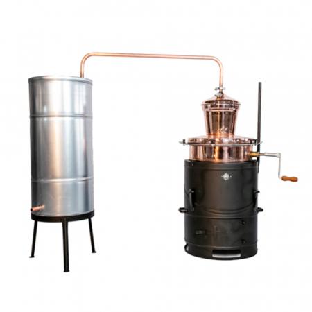 Cazan pentru tuica, cu amestecator Des BASCULANT 80 litri [1]