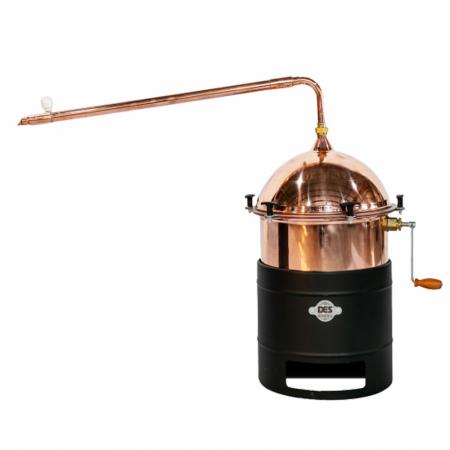 Cazan pentru tuica, cu amestecator Des HOBBY 35 litri, focar pe gaz [0]