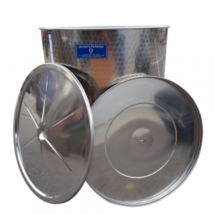 Cisterna inox Marchisio SPO1000, 1000 litri, capac flotant cu ulei de parafina, 1000x1300 mm [1]