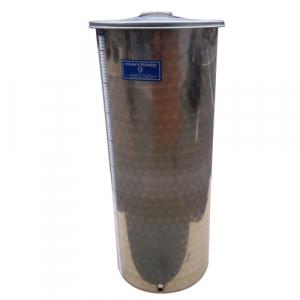 Cisterna inox Marchisio SPO100A, 100 litri, capac flotant cu ulei de parafina, 384x1000 mm2