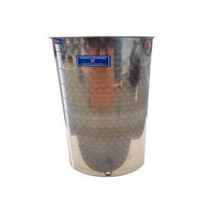 Cisterna inox Marchisio SPO80, 80 litri, capac flotant cu ulei de parafina, 384x750 mm [3]