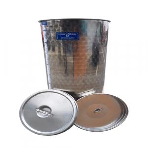 Cisterna inox Marchisio SPO80, 80 litri, capac flotant cu ulei de parafina, 384x750 mm [1]