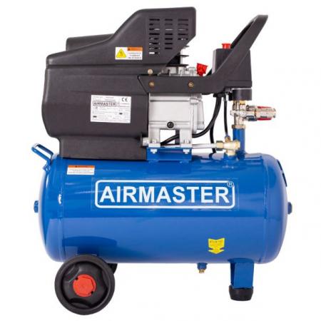 Compresor cu piston Airmaster AIRMASTER210/24, 24 L, 8 bar, 198 l/min, 2 CP, monofazat [2]
