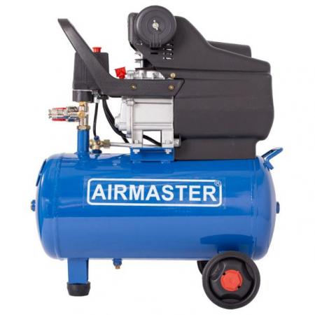 Compresor cu piston Airmaster AIRMASTER210/24, 24 L, 8 bar, 198 l/min, 2 CP, monofazat [3]