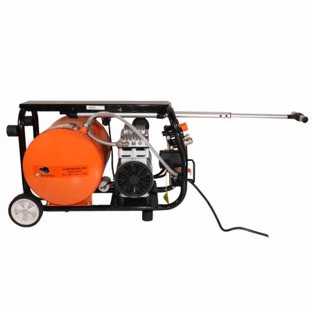 Compresor fara ulei Bisonte SC012-015, 15 L, 8 bar, 168 l/min, 1.2 CP, monofazat [1]