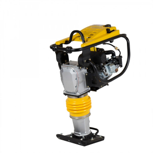 Mai compactor Stager SG80LC, Loncin LC168F, 4.1 CP, benzina, 13 kN, 70 kg [1]