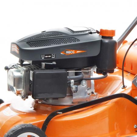 Masina de tuns gazon Ruris DAC 110XL, 2.5 CP, 40 cm, 45 L, autopropulsata4