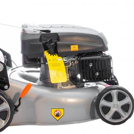 Masina de tuns gazon Ruris RX221S, 3.5 CP, 42 cm, 45 L4