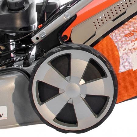 Masina de tuns gazon Ruris RX331S, 3.5 CP, 46 cm, 65 L, autopropulsata, pornire automata10