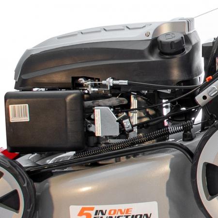 Masina de tuns gazon Ruris RX331S, 3.5 CP, 46 cm, 65 L, autopropulsata, pornire automata3