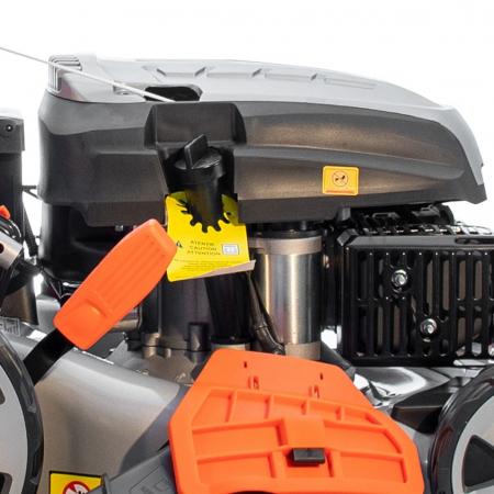 Masina de tuns gazon Ruris RX331S, 3.5 CP, 46 cm, 65 L, autopropulsata, pornire automata4