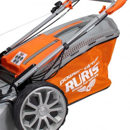 Masina de tuns gazon Ruris RX500S, 5.7 CP, 53 cm, 65 L, autopropulsata, variator viteza5