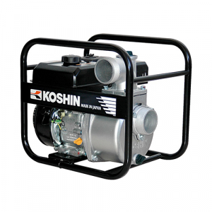 "Motopompa apa curata Koshin SEV-80X, 4.2 CP, benzina, 1050 l/min, Hmax. 25 m, 3""0"