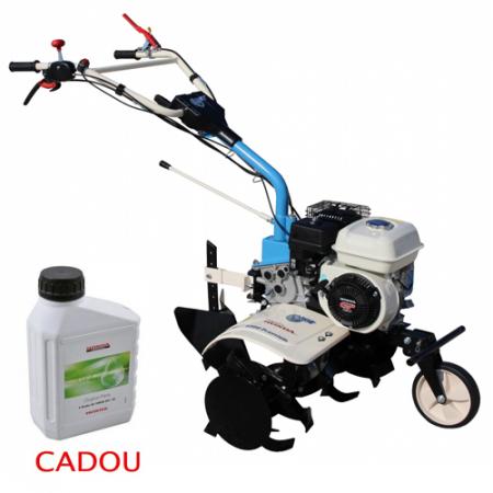 Motosapa AGT 6500 PREMIUM, Honda GP160, 5.5 CP, benzina, 2+1 viteze + roti 4.00-8, plug bilonat0