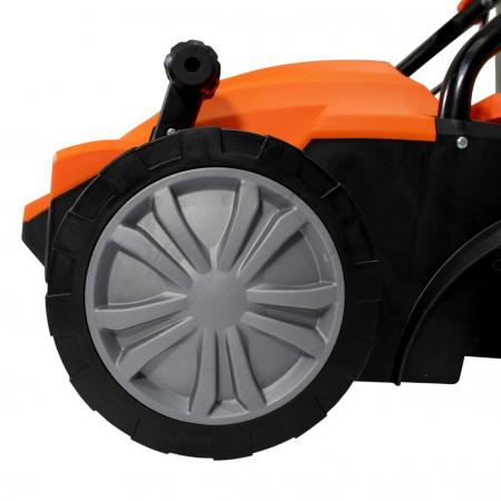 Scarificator gazon electric Ruris RXE888, 1500 W, 32 cm, 30 L2