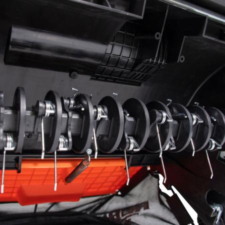 Scarificator gazon electric Ruris RXE888, 1500 W, 32 cm, 30 L6