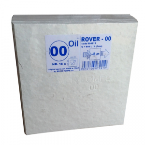 Set 18 placi filtrante 20x20 cm ROVER 00 Oil, degrosare ulei [1]