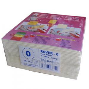 Set 25 placi filtrante 20x20 cm ROVER 0, degrosare forte [0]