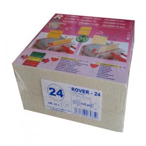 Set 25 placi filtrante 20x20 cm ROVER 24, filtrare super-fina [0]