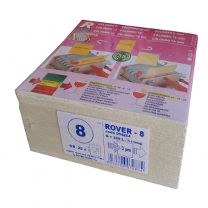 Set 25 placi filtrante 20x20 cm ROVER 8, degrosare de clarifiere0