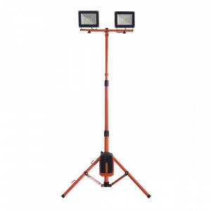 Redback ED40 Stand proiectoare LED acumulatori 40V, 2x20W, solo [0]