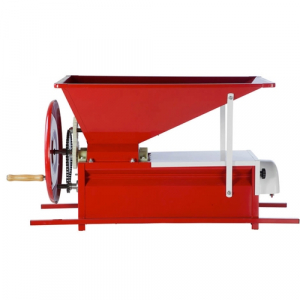 Zdrobitor de struguri cu desciorchinator, manual Marchisio BABY Smalto, 700-800 kg/h