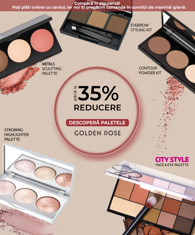 PALETE GOLDEN ROSE M
