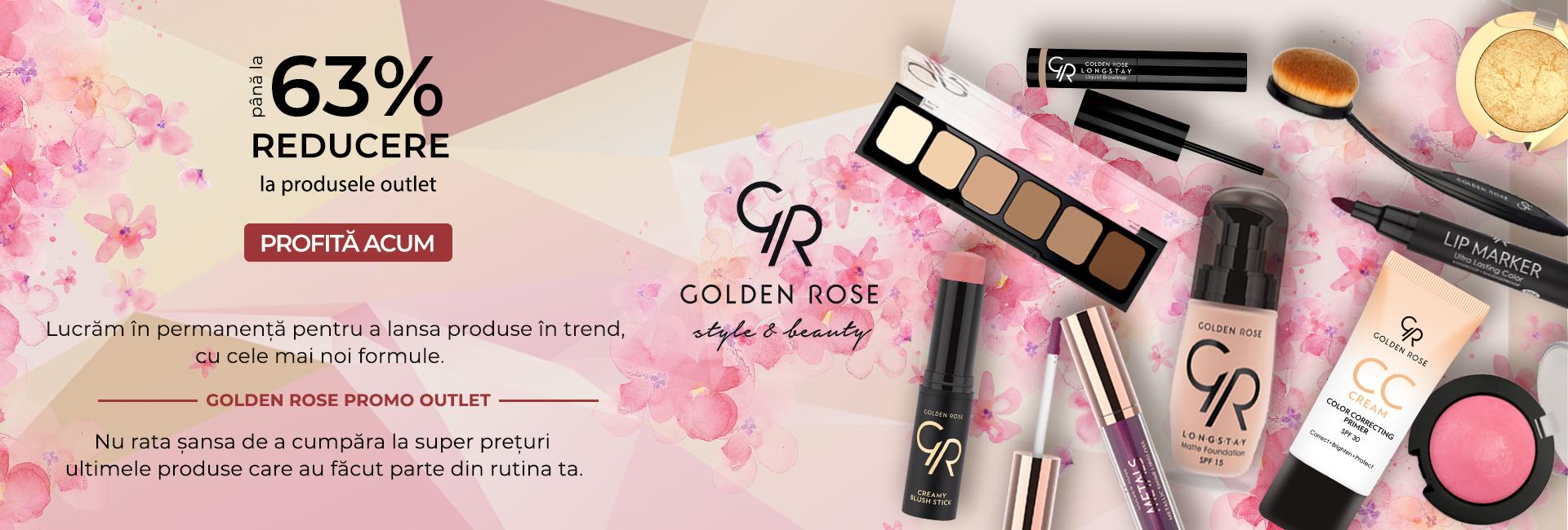 GOLDEN ROSE OUTLET -63%