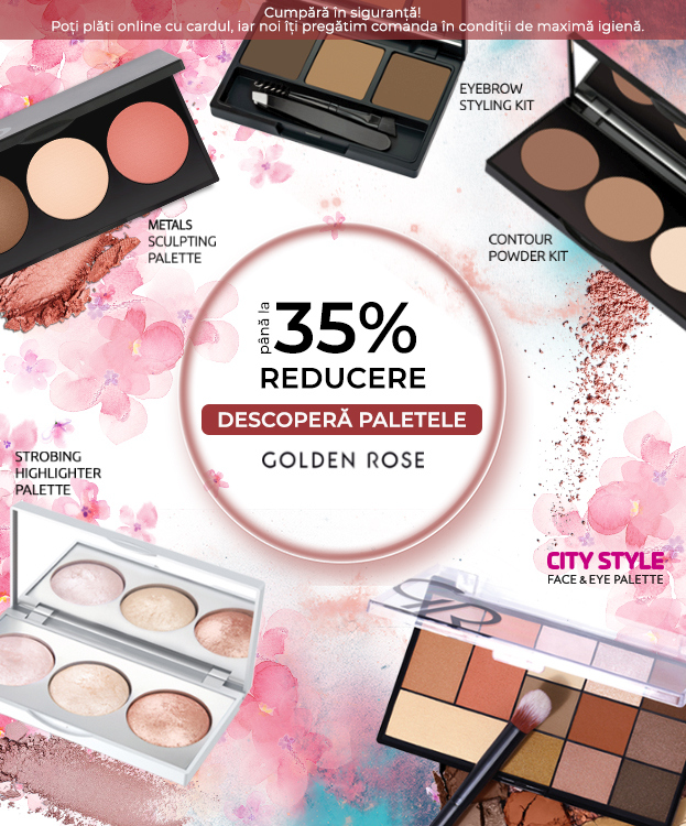 PALETE GOLDEN ROSE -35% M
