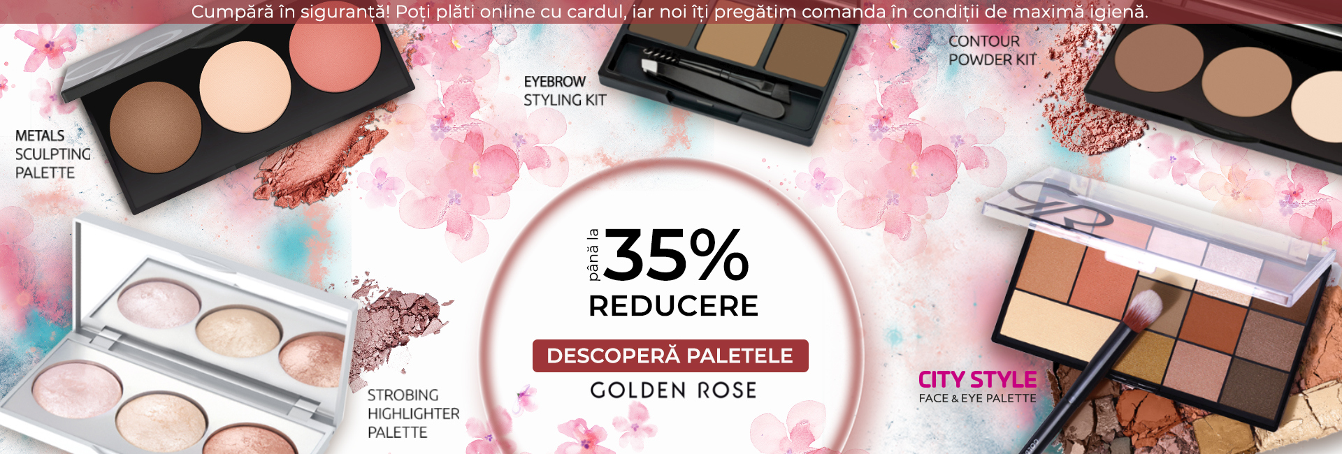 PALETE GOLDEN ROSE -35%