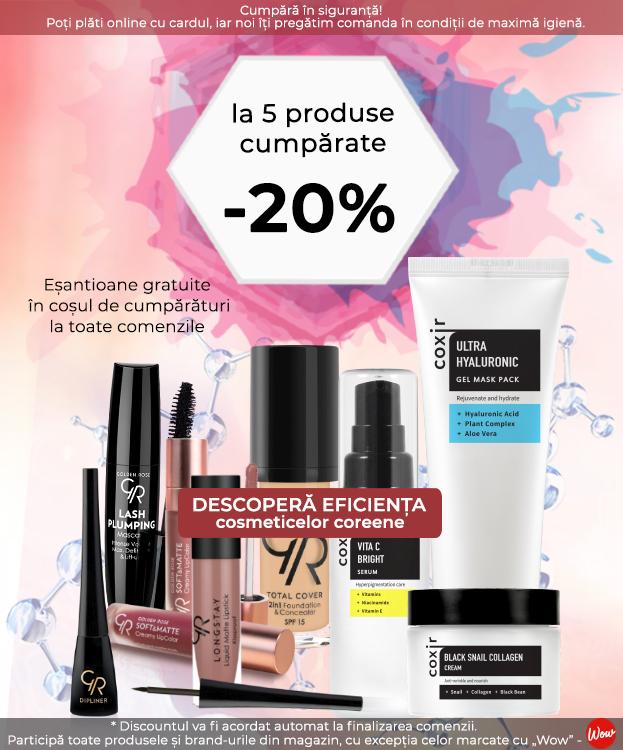 PROMOTIA LUNII -20% LA TOATE PRODUSELE M